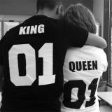 Get The Best Price For Hot Men Tee T Shirt Top Hip Hop Couple Short Sleeve Letter Print Shirts White Intl