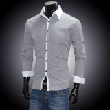 Who Sells Hot Sale Astar Men S Casual Slim Fit Luxury Stylish Long Sleeve Shirts Intl Cheap