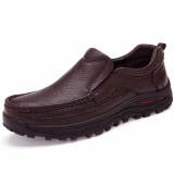 Sale Hot Sale Brand Plus Size 38 48 Men S British Business Casual Formal Genuine Cow Leather Shoes Flat Shoes Men Office Work Loafer Shoes Brown Intl China