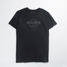 Sale Hr Faux Leather Textured Printed T Shirt On China