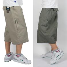 Price Comparisons For I Men S Xxxxxl Multi Bags Pants Casual Capris Black