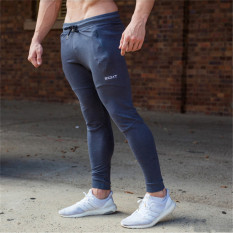 List Price I Thin Breathable Slim Fit Base Feet Pants Pants Dark Gray Color Other