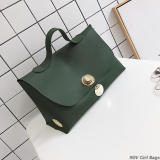 Best Ins European And American Round Buckle Hot Selling Bag Handbag Green