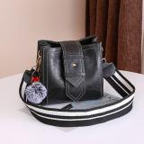 Ins Fashion G*Rl S Super Fire Bag Shoulder Strap Bag Black Shopping