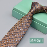 Price Ins Shop 2017 New Gw14 Leisure Skinny 6Cm Men Tie Gold Intl Oem