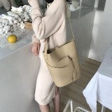 Price Research On Ins Versatile Ultra Fire Capacity Different Size Bags Messenger Shoulder Bag Beige Other China