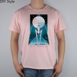 Sale Into Darkness Mens T Shirt Top Lycra Cotton Men T Shirt New Short Sleeved Round Neck Men S Tee Pink Intl China
