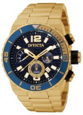Invicta Pro Diver Men S Gold Plated Stainless Steel Strap Watch 1344 Export Best Price