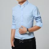 Autumn Straight Leg Men S Long Sleeve Shirts Br W 919 Shirt Sky Blue Br W 919 Shirt Sky Blue Best Buy
