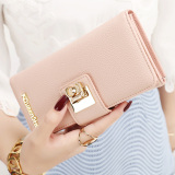 Sale South Korea Female Zipper Hasp Women S Wallet For Women Crystal Powder Crystal Powder On China