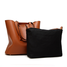 Who Sells Korean Style One Shoulder Large Bag Women S Bag Brown The Cheapest