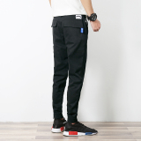 Discounted Men S Slim Fit Jogger Pants Black Black