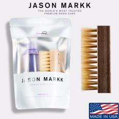 Price Jason Markk 4Oz Essential Shoe Cleaning Kit Premium Brush Bundle Set Jason Markk New
