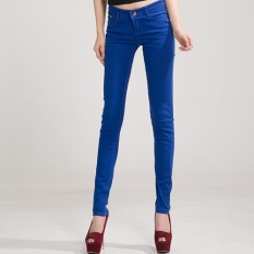 Top 10 Jeans Female Denim Pants Candy Color Womens Jeans Donna Stretch Bottoms Feminino Skinny Pants For Women Trousers 2017 Tataria Intl