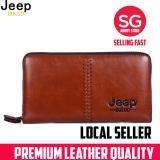 The Cheapest Jeep Buluo Khaki Professional Men New Fashion Wallet Online