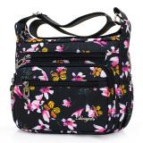 Promo Jeep Casual Lightweight Multi Messenger Bag Nylon Women S Bag Pink Peach