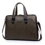Sale Jeep Men S Business Briefcase Portable Handbag Aslant Tote Horizontal Army Green Jeep Branded
