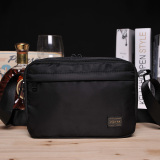 Discounted Ji Tian New Waterproof Nylon Ladies Bag Casual Men Shoulder Bag Black Large Black Large