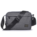 Ji Tian New Waterproof Nylon Ladies Bag Casual Men Shoulder Bag Gray Small Gray Small Lower Price
