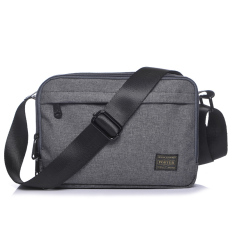Retail Ji Tian New Waterproof Nylon Ladies Bag Casual Men Shoulder Bag Gray Small Gray Small