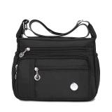Promo Jielangshi Fashion Women S Large Capacity Oxford Cloth Bag Nylon Messenger Bag Black Small Black Small