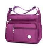 Compare Jielangshi Fashion Women S Large Capacity Oxford Cloth Bag Nylon Messenger Bag Purple Small Purple Small