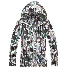 Sales Price Jieyuhan Anti Uv Camouflage Sports Outdoor Unisex Skin Care Light Windbreakers Green Intl