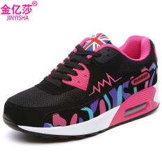 Cheapest Jin Yihan Version Lightweight Running Women S Shoes Air Shoes A956 Black Rose Mesh Online