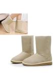 Sale Jo In Unisex Winter Warm Snow Half Boots Shoes 6 Colors White