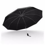 For Sale Jojo Windproof Compact Travel Umbrella Foldable Fiberglass Frame Largecanopy Auto Open Umbrella For Men Women Black Intl