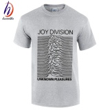 Where Can I Buy Joy Division 2017 Fashion Short Sleeve Design Fashion Mens Casual Cotton T Shirt Grey Intl