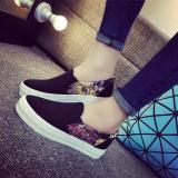 Buying Joy Korea Korean Fashion Korean Version Of A Pedal Casual Canvas Shoes Black Intl