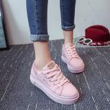 Buy Joy Korea Korean Fashion Version Of The Lace Casual Wild Sneakers Pink Intl Oem Cheap