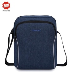 Where To Shop For Joy Men Messenger Shoulder Bag For Phone Wallet Blue Intl
