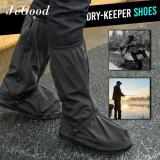Jvgood Motorcycle Waterproof Rain Boot Shoes Covers Thicker Scootor Non Slip Boots Covers 100 Waterproof Adjusting Tightness Review