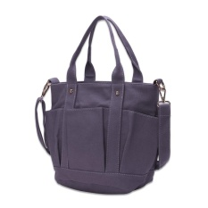 Kanior Fashion Woman Bag Korean Popular Ladies Bag Gray Intl Coupon