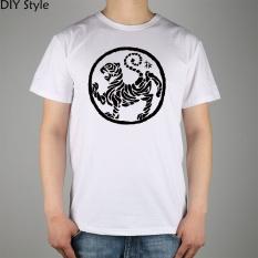 Best Karate Kick Mma Shotokan Mens T Shirt Cotton Brand T Shirt Men New Short Sleeved Round Neck Tee White Intl