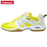 Where To Buy Kawasaki K 116 Sneakers Mens Badminton Shoes Professional Anti Slippery Breathable Man Athlete Indoor Sports Shoes For Badminton Yellow Intl