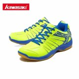 Kawasaki Professional Badminton Shoes For Men Woman Sneakers Wear Resistant Breathable Sports Shoe K 062 Green Intl Kawasaki Discount