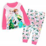 Get Cheap Kid Clothes Frozen Pajamas Elsa Anna Princess Sleepwear