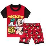Low Price Kid Clothing Kid Pajamas Spiderman Batman Superman Mickey Mouse Pajamas Set