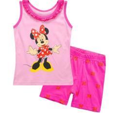 Sale Kids Clothing Kid Pajamas Hello Kitty Minnie Mouse Dora Sofia My Little Pony Pajamas Casual Outing Wear Set