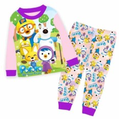 Price Kids Clothing Kid Sleepwear Pororo Pajamas On Singapore