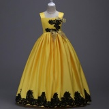 Retail Kids Dresses Princess Dresses Dress Up Halloween Girls Dresses Lace Evening Dresses Intl