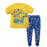 Buy Kids Pyjamas Minion Banana Short Sleeve Pajamas Sleepwear Cheap Singapore