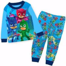 Discount Kids Pyjamas Pj Mask Long Sleeve Pajamas Sleepwear Oem
