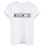 Brand New Kiin It Hype Wifey Wag Wated Tri T S Shirt
