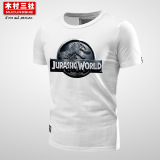 Sale Mucunsanshe World T Shirt White Jurassic 01 Oem