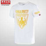 Best Price Kimura San She Ghost Short Sleeve Cotton Ol Blue T Shirt White 02 White 02