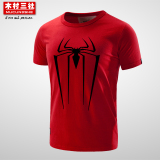 Kimura Summer Men S Short Sleeved Spider Man T Shirt China